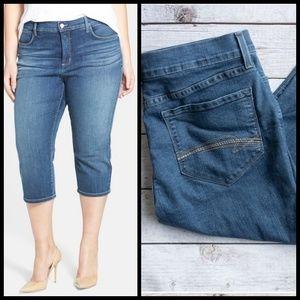 NYDJ crop jeans sz 16P Like New!